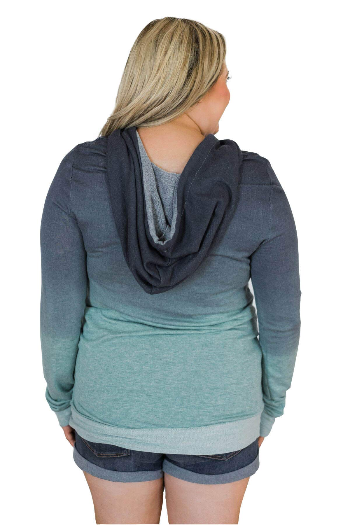Minipeach Women's Pullover Long Sleeve Hoodies Coat Loose Casual Sweatshirts with Pocket by Minipeach (Image #5)