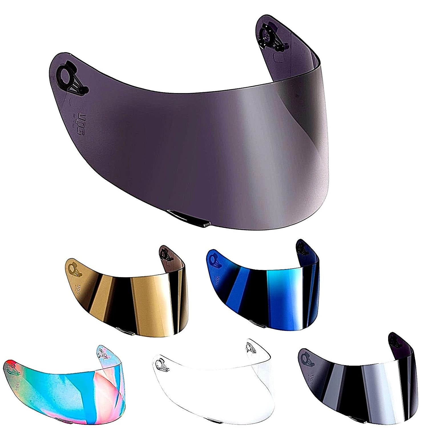Visor Original Not Compatible AGV K3/ SV K1/ K5/ K5-sv K5S Horizon Skyline Road NUMO GT-2/ xxs-xs-s-ms-m-ml-l-xl-xxl TAGLIA UNICA transparent