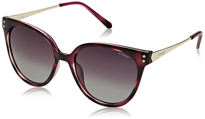 Cateye Sunglasses in Pink Havana Gold Polarised PLD 4047/S R8W 54 Polaroid Dt6c0kU6FA