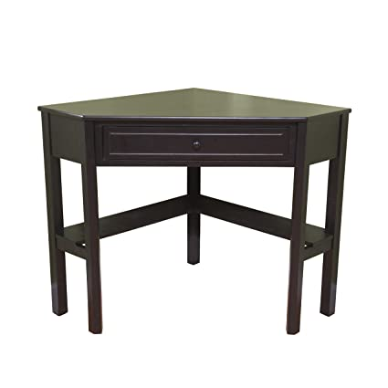 Tremendous Amazon Com Target Marketing Systems Wood Corner Desk With Interior Design Ideas Inamawefileorg