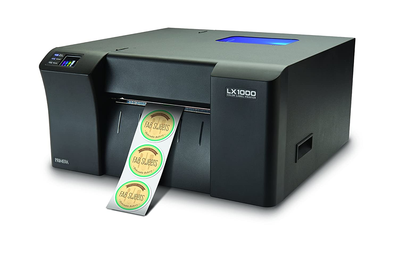 Color printer label - Amazon Com Primera Lx1000 Color Label Printer Print Your Own High Quality Short Run Product Labels Electronics