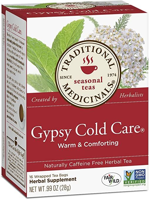 Traditional Medicinals Gypsy Cold Care Tea, 16 Tea Bags