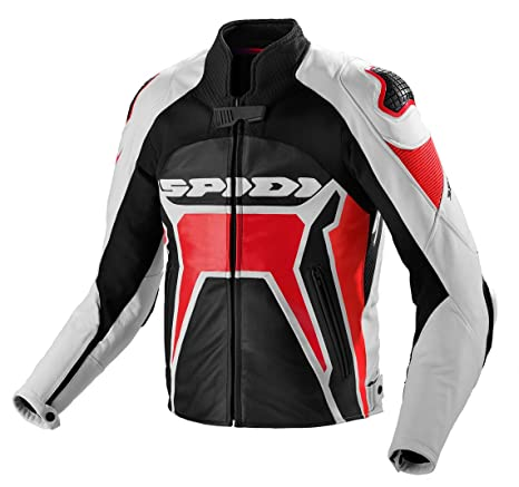 Spidi - Warrior 2 Chaqueta de piel: Amazon.es: Coche y moto