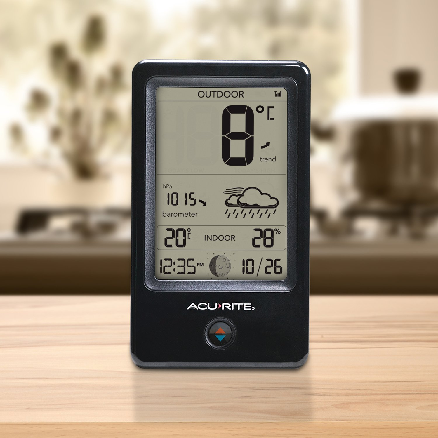AcuRite 77008EM Weather Station with Count Temperature/Humidity ...