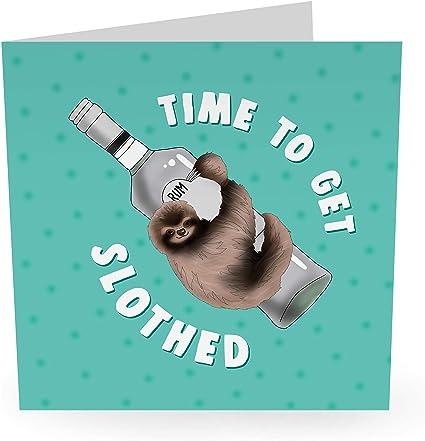 humor Witty Pun Banter 21 marido hermana esposa bonitas tarjetas de perro de broma Divertida tarjeta de cumplea/ños para hombres y mujeres 30 y 40 Mum Dad Central 23 hermana