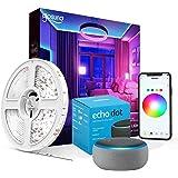 Fita de Led Inteligente Wifi RGB 5m - Compatível Alexa Google Home