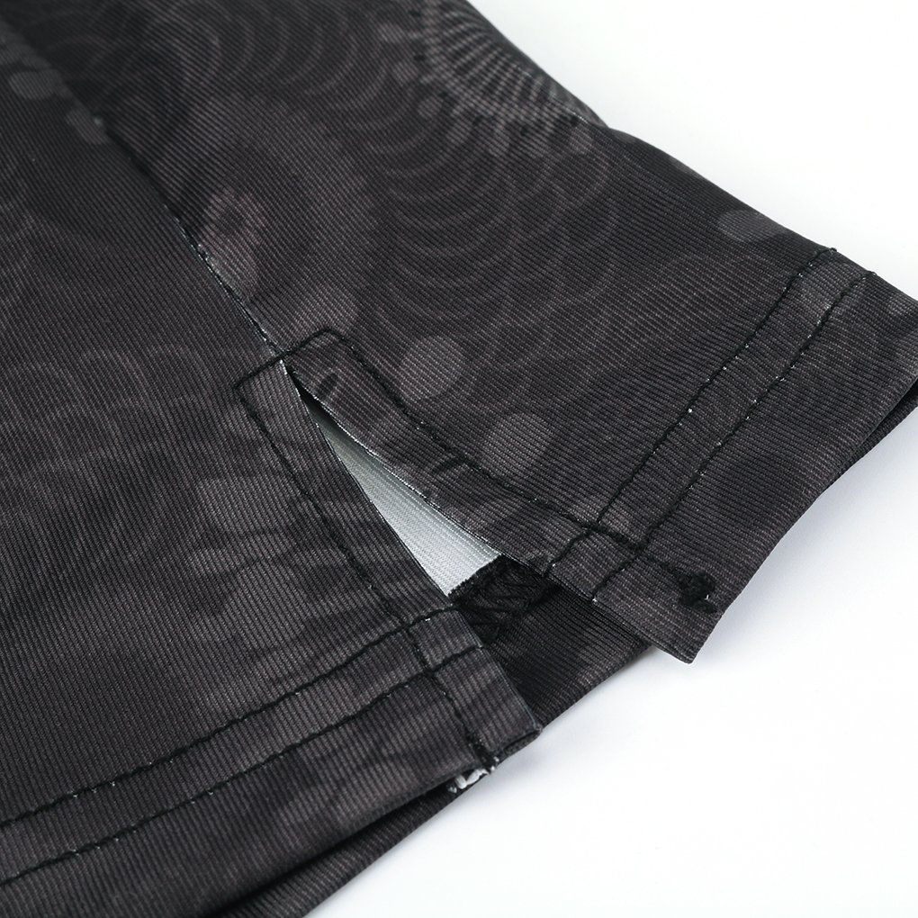 Topfire Women Active Athletic Skorts Lightweight Quick Dry Skirt, Gray Printing, Large by Topfire (Image #5)