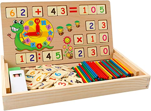 Gioco Educativo Matematica Aritmetica Puzzle Domino Educativo Gioco Casa