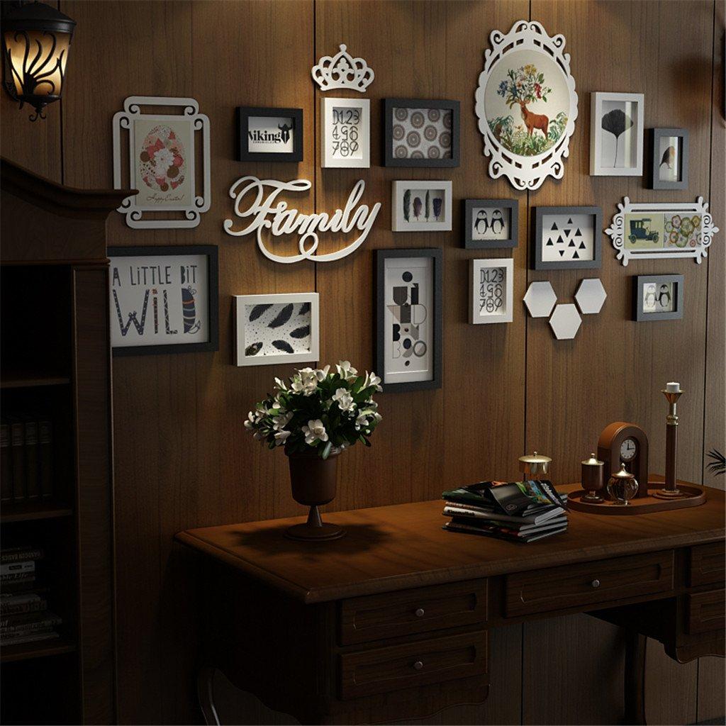 GUOCAIRONG® Europäischer Stil Massivholz Bilderrahmen Foto Wand ...