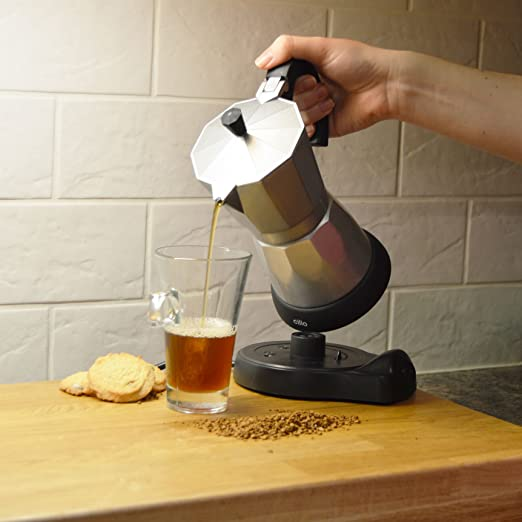 6 taza eléctrica de café cafetera italiana 480 Watt - Keep ...