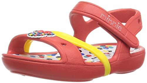 34e3ba396 Image Unavailable. Image not available for. Colour  Crocs Lina Minnie Girls  Sandal ...