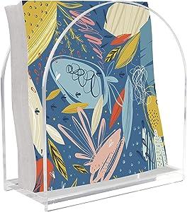 Tasybox Acrylic Napkin Holder, Clear Napkin Holders for Tables Kitchen Restaurant Home Decor, Modern Decorative Holder for Dinner Paper Cocktail Napkins