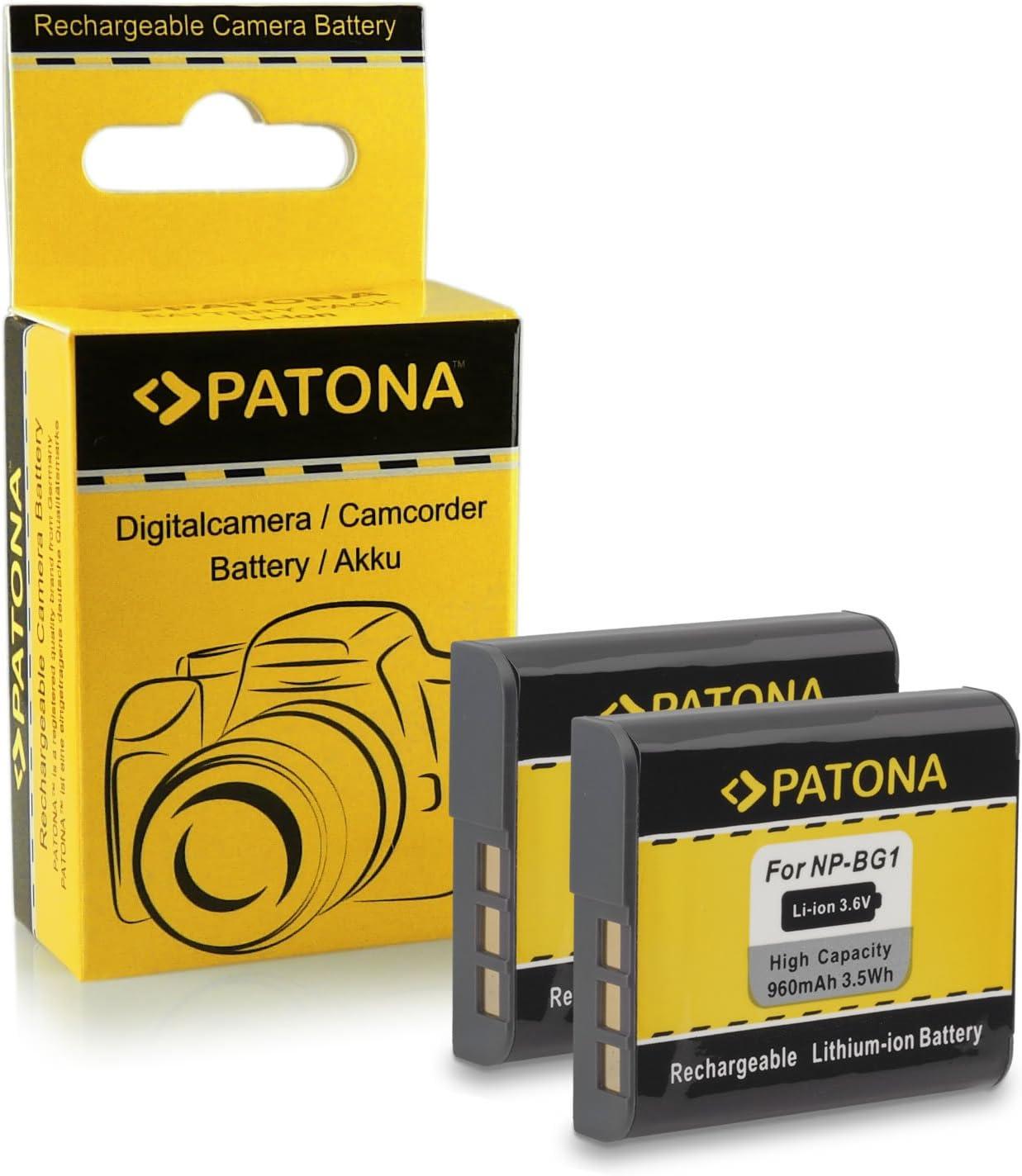 Batería CARGADOR PARA SONY dsc-h-7 dsc-h-9 dsc-h-10 bg1