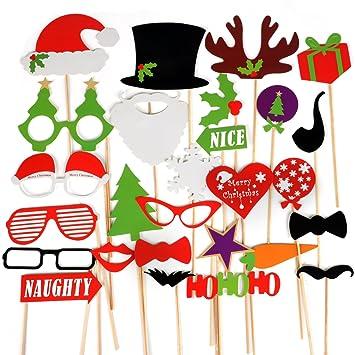 Lustiges Für Weihnachtsfeier.Trixes Lustige Requisiten Für Weihnachtsfeiern Foto Prop Verschiedene Masken