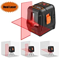 Tacklife 50-Foot 3-Mode Dual Laser Level with Dual Laser Sources