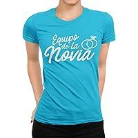 Camiseta Equipo de la Novia Despedida de Soltera Mujer