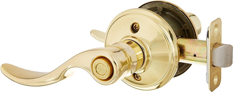 Antique Brass Annes Bed and Bath Lever Schlage F40 STA 609 16-080 10-027 St