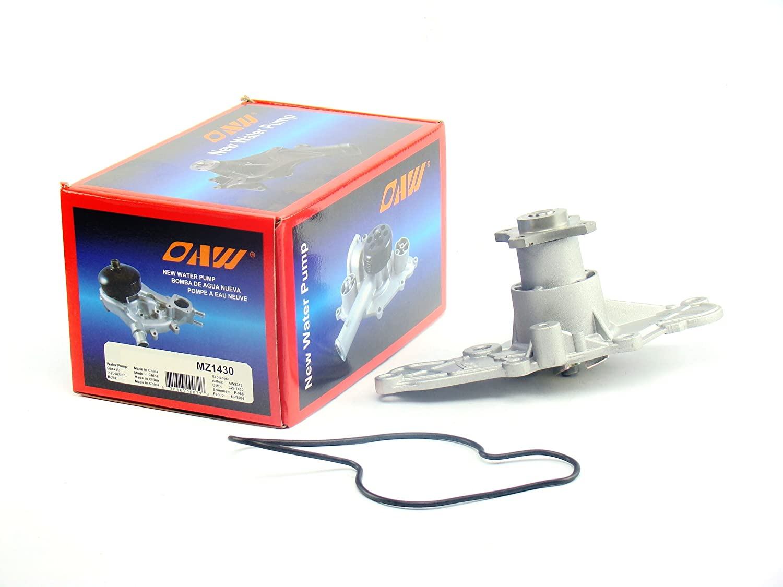 Amazon.com: OAW MZ1430 Engine Water Pump (32mm Pulley Pilot Dia.) for Mazda 626 Millenia MX3 MX6 & Ford Probe V6 2.5L 1992 - 2002: Automotive
