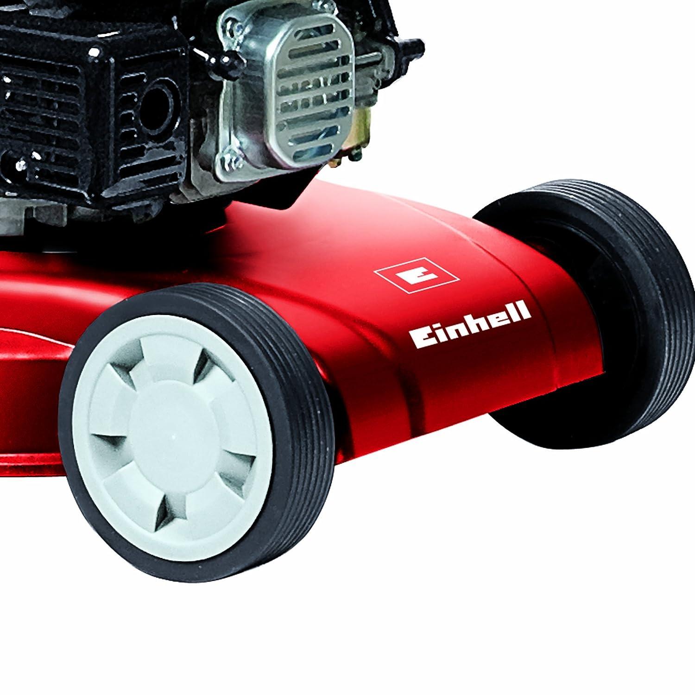 Einhell GH-PM 40 P - Cortacésped de gasolina (1600 Vatios, altura de corte 3 niveles | 32-62 mm , ancho de corte 40 cm, hasta 800m² de jardín, 45L de ...