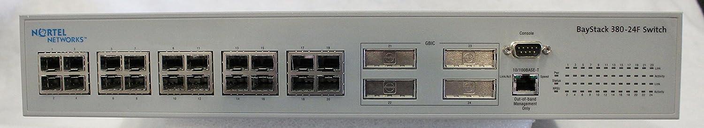 NORTEL AL4512A01 NORTEL AL4512A01 BayStack 380-24F Standalone 1Gbps Ethernet Swit AL4512A01