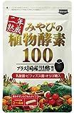 二年熟成 みやびの植物酵素100 国産黒酢配合 新鮮な野菜や果物や野草を合計100種類