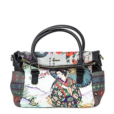 cb9fa151a18fe Tasche 18waxfbe Damen Schuhe Desigual Handtaschen amp  BqRPEn4Ex
