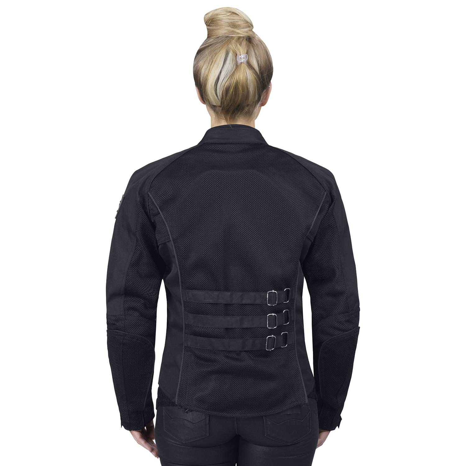 Viking Cycle Warlock Womens Mesh Motorcycle Jacket