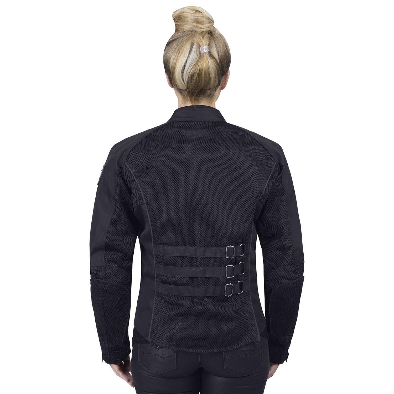 309f18665b44b7 Amazon.com  Viking Cycle Warlock Women s Mesh Motorcycle Jacket  Clothing