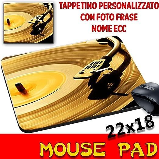 MyCust Mouse Pad Vintage Disco Vinilo Tocadiscos Alfombrilla ...