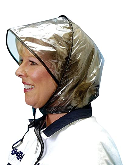 Image Unavailable. Image not available for. Color  Miles Kimball Rain Bonnet 9ab8f1a3f57e
