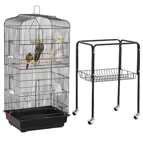 Yaheetech Jaula para Pájaros Jaula de Aves Canarios 2 Calor ...