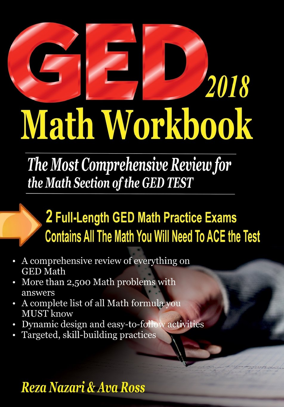 GED Math Workbook 2018: The Most Comprehensive Review for the Math ...