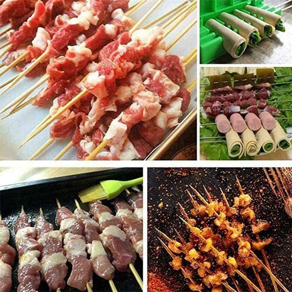 SGSG Barbecue Stringer Kebab Maker, Multifonctionnel Kebab Maker Moule Alimentaire BBQ Kebab, Accessoires de Cuisine BBQ Gadget Maker Helper Kit 1 Psc