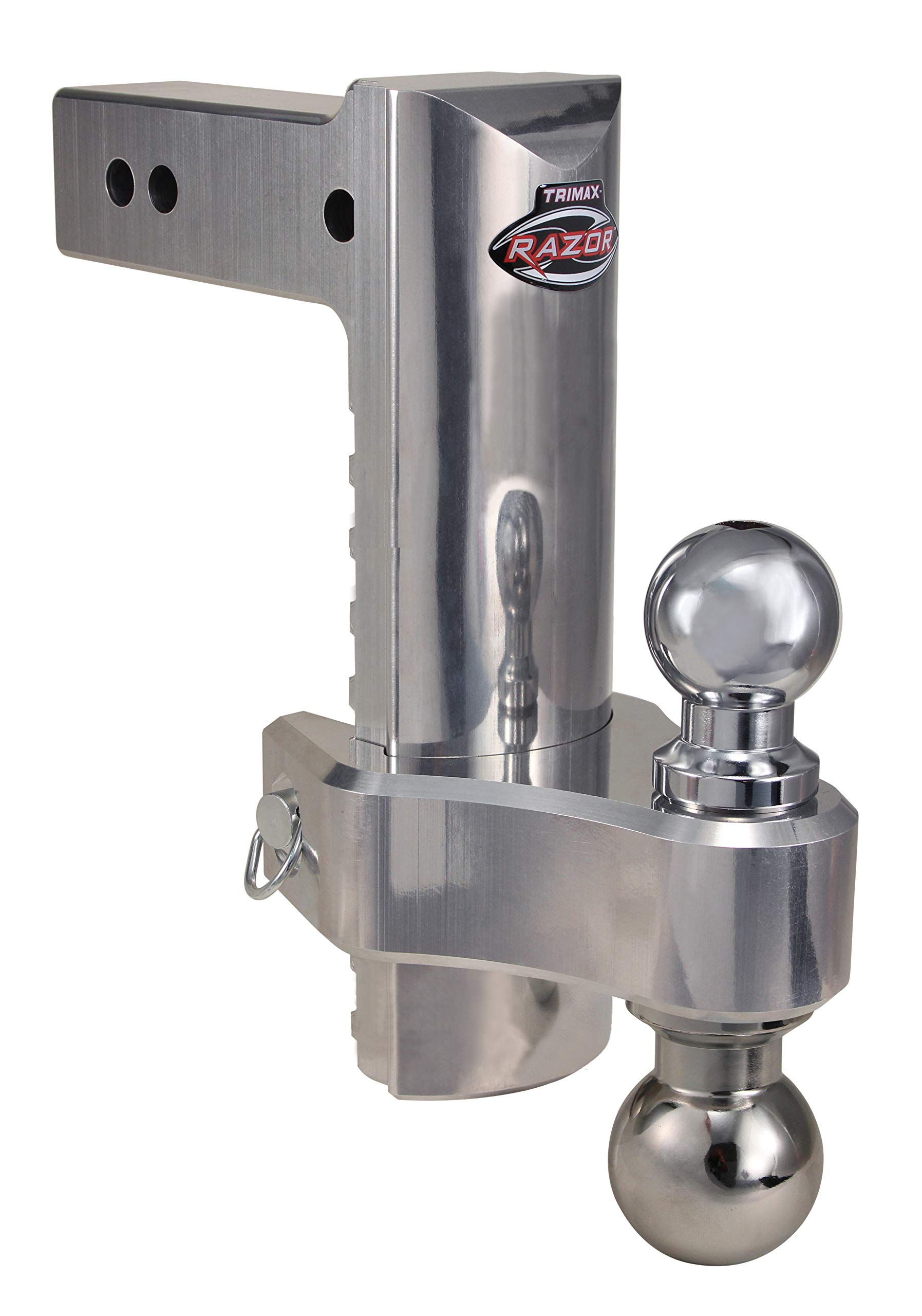 Trimax TRZ10ALHD Heavy Duty Aluminum, 20,000 LB Rated, 10 Inch Dropped Hitch by Trimax