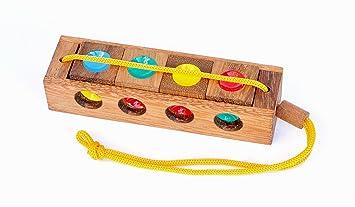 Logica Spiele Art Ampel Denkspiele 3 In 1 Holzspielzeug