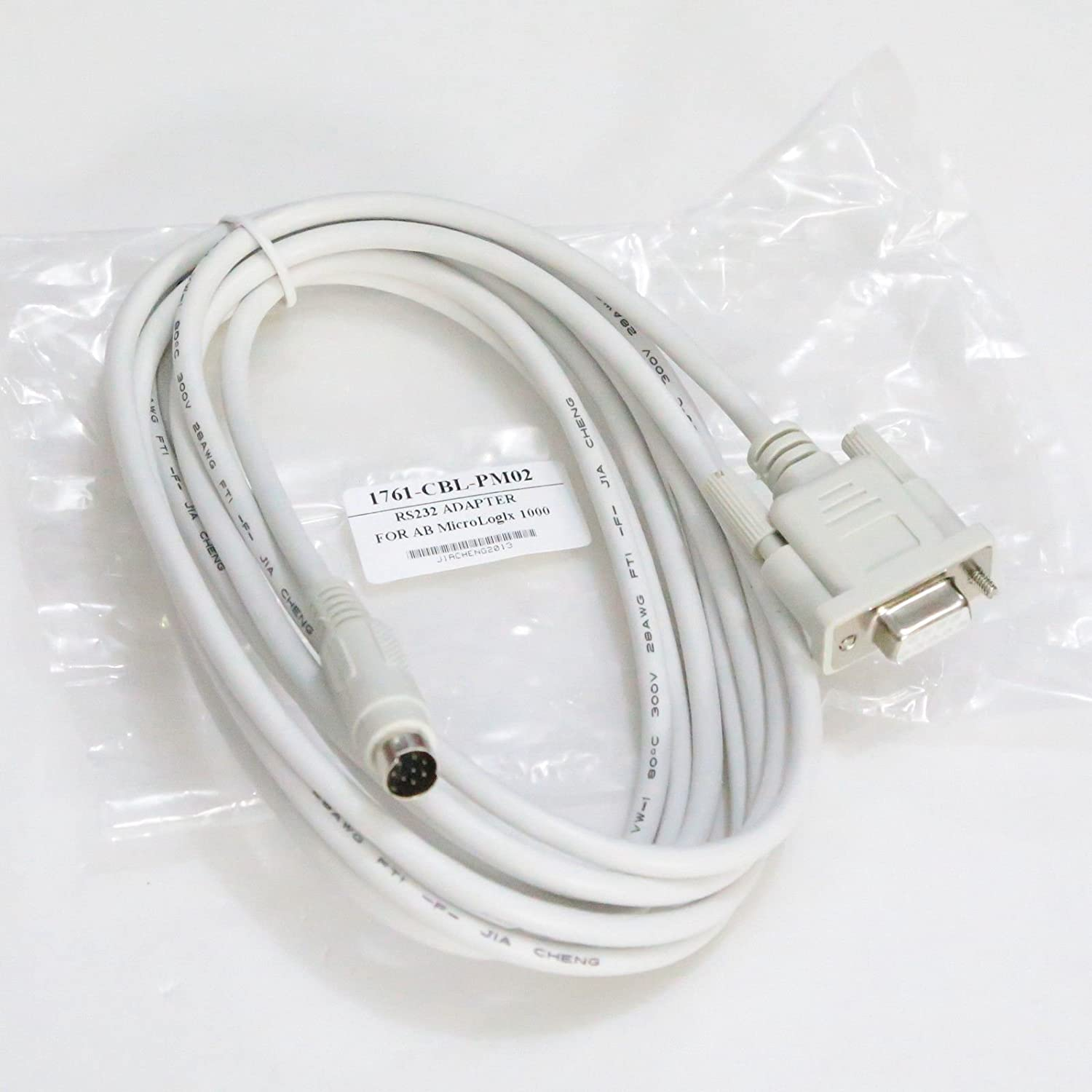 Programming Cable for 1761-cbl-pm02 Ab Micrologix 1000/1200/1500 PLC ...