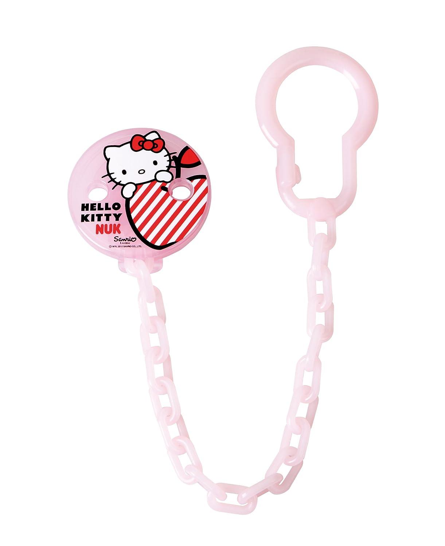 Nuk 710306 - Cadena para chupete, diseño de Hello Kitty