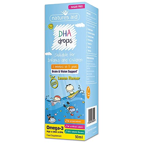 (3 months-5 years) DHA Mini Drops for infants & children 50ml