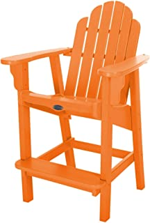 product image for Nags Head Hammocks Classic Counter Height Chair, Orange