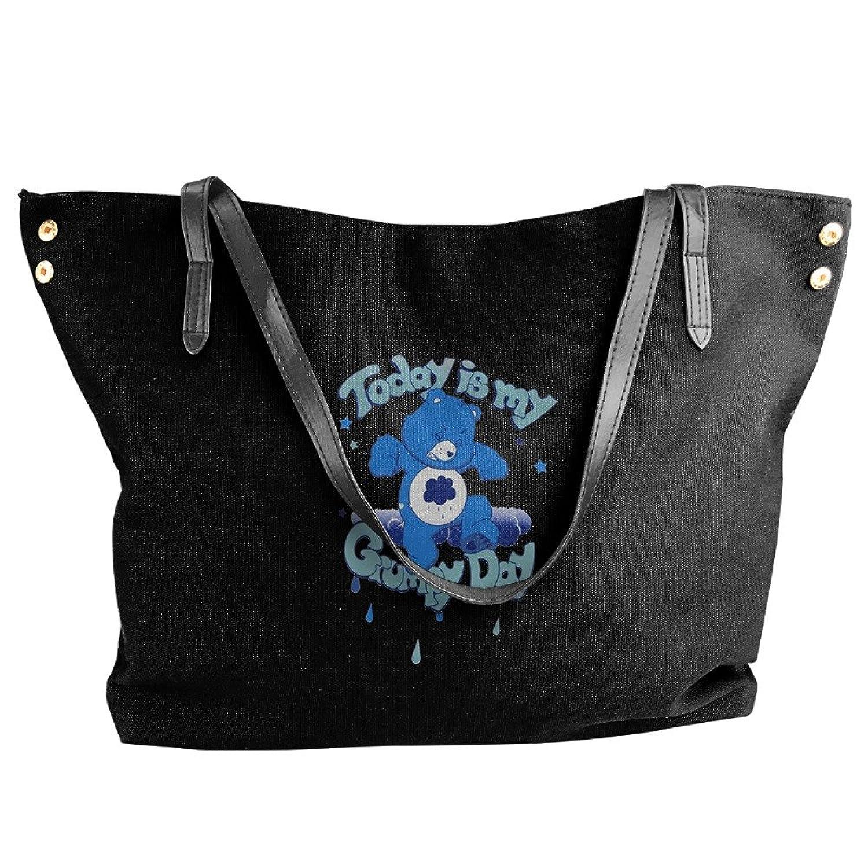 Care Bears Grumpy Women's Shoulder Bags Casual Handbag Travel Bag Messenger Canvas Bags