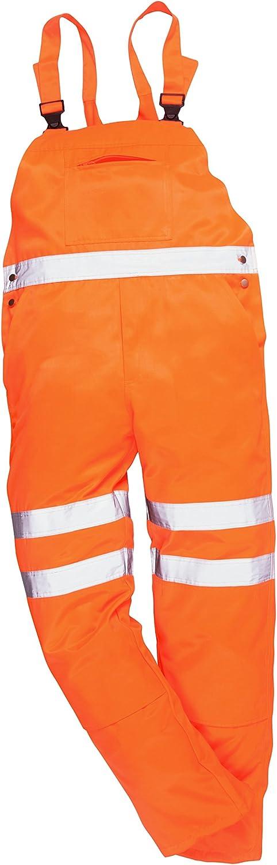 PORTWEST RT43 HI-vis Bib und Brace Go//RT Orange 1 St/ück S RT43ORRS