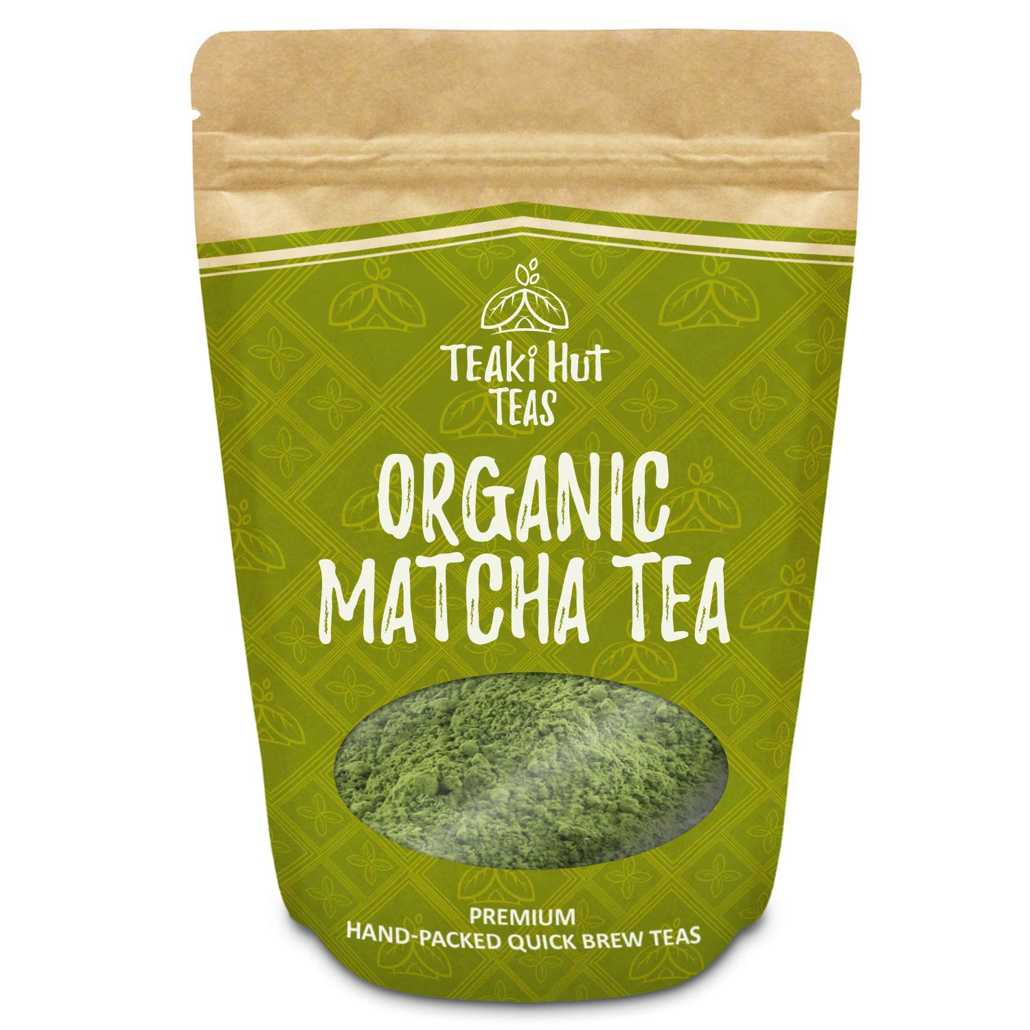 Organic Matcha Green Tea Powder Culinary Grade 2 oz (50 Servings) - Excellent Weight Loss Benefits - More Antioxidants than Green Tea Bags- Great for making Matcha Tea, smoothies or Lattes