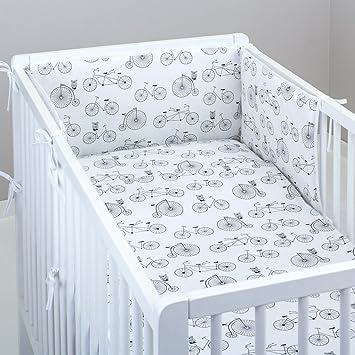 Juego de cama de bebé, Juego de 20 piezas, almohada y Colcha ...