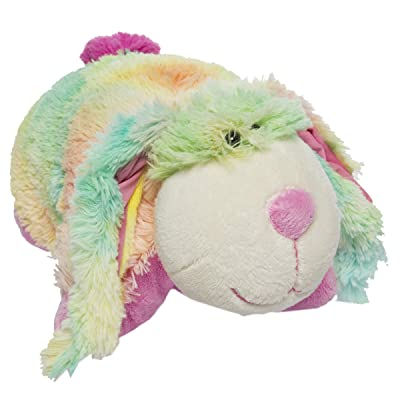 "My Pillow Pets Pee Wee Rainbow Bunny 11"": Toys & Games"