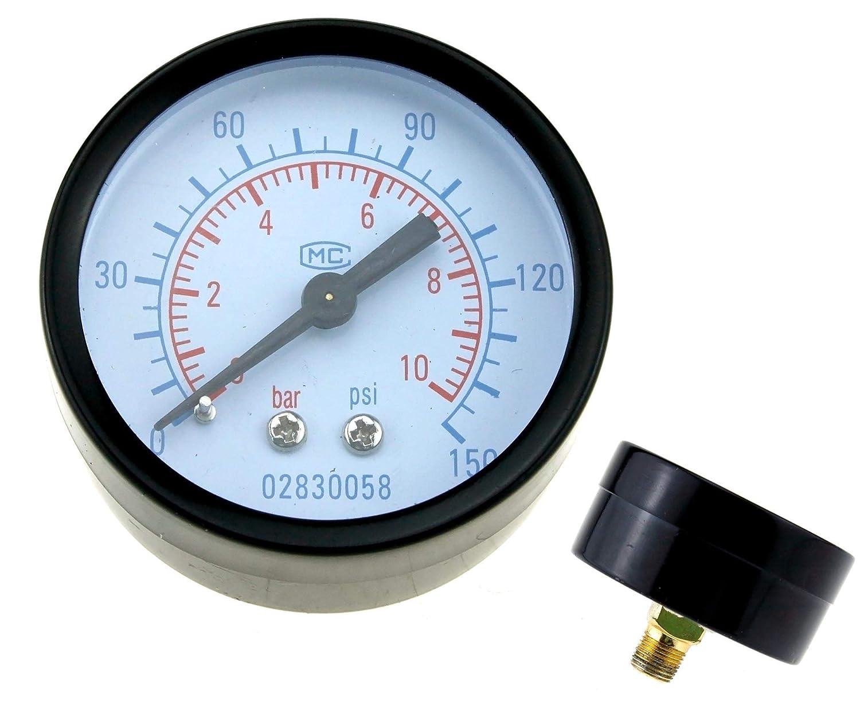 compresor de trampa de agua con man/ómetro y freno de pared hembra de 1//4 pulgadas Regulador de filtro de aire comprimido accesorios de herramientas de aire BSP