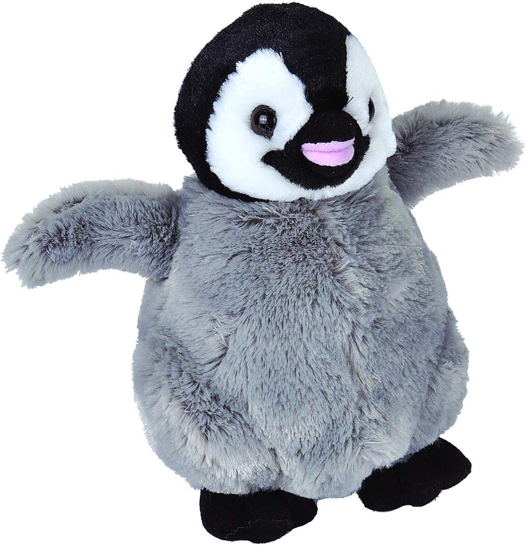 Wild Republic Penguin Plush, Stuffed Animal, Plush Toy, Gifts for Kids, Cuddlekins 12 inches
