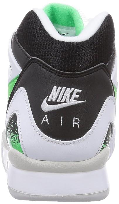 the latest c72cb b9afd Nike Air Tech Challenge II, Chaussures de Tennis Adulte Mixte - Blanc (White  Psn GRN-Blk-Lght Ash Gry), 44.5 EU  Amazon.fr  Chaussures et Sacs