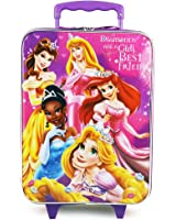 Disney Princess Pilot Case Rolling Luggage Carry on Approved