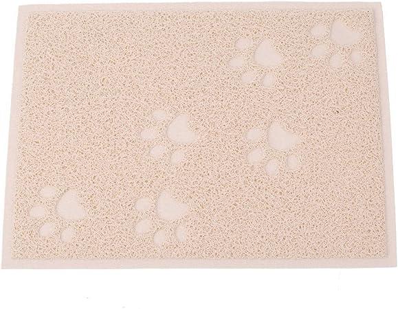 Alfombrilla de PVC para caja de desechos de gato, 30 x 40 cm, de KINGCOO: Amazon.es: Hogar