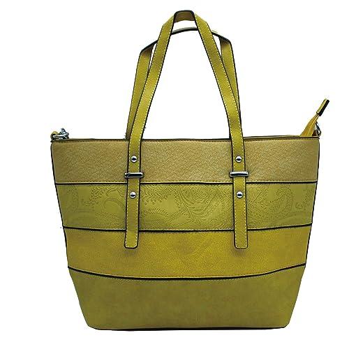 fabdadc137 MISEMIYA - Borsa a Mano Donna Pochette e Clutch Borse a mano e a spalla  mano borsa SR-141 - Giallo: Amazon.it: Scarpe e borse